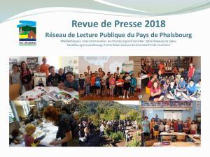 Revue de Presse 2018